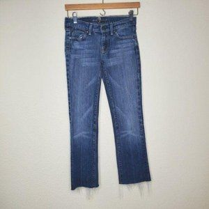 7 For All Mankind Straight Cropped Jeans